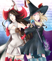 Bravely Halloween by Akuo-art