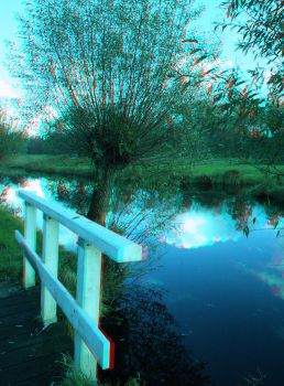 Watch out forthe bridge! (anaglyph) by MDGallery