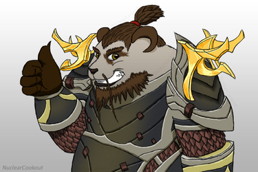 Pandaren Hunter by NuclearCookout