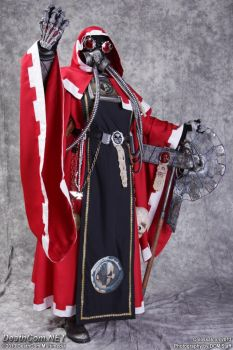 Warhammer 40k Tech-Priest Cosplay v.3 by cionbird