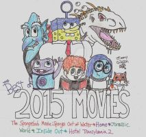 Best of 2015: Movies by CelmationPrince