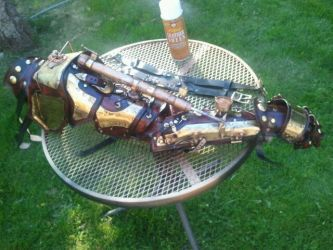Steampunk Arm The 2nd2 by Skinz-N-Hydez