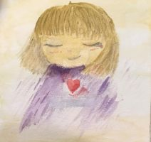 Watercolour frisk by Temmious