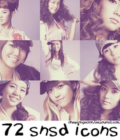 72 SNSD Icons by ohmyjongwoon