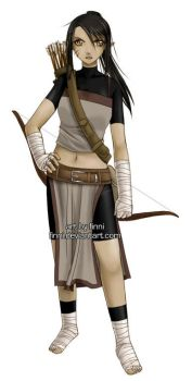 Shadia - RP chara profile by finni