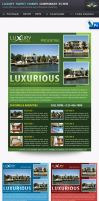 Luxury Sweet Homes Corporate Flyers by Saptarang