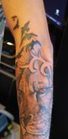 african lion by Kiddotattoo