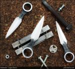 Wrench Neck Knife Push Dagger by Logan-Pearce
