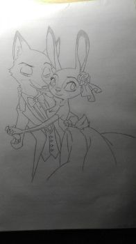 Nick and Judy  by Amy05748