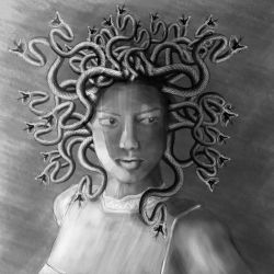 Medusa Draw by Valadj