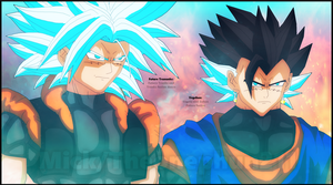 Future Trununks and Vegehan by TheOnePhun211