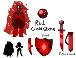 Red Goldstone OC - SU by DualJewels