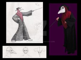 Plague doctor by MissRaptor