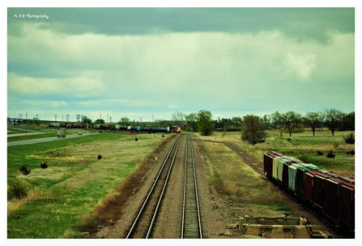 There's A Train A Comin' by erbphotography
