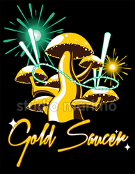 Gold Saucer - T-shirt by studiomarimo