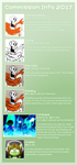 Commission Info - 2017 (ToS in description) by EarthGwee