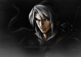 Dark Link by TixieLix