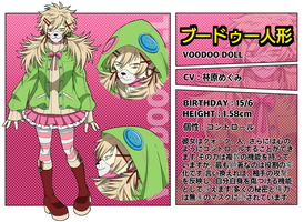 Voodoo doll / BnHA-OC / Profile / Villain by Anonimo283