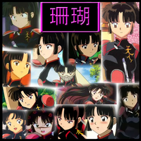 Inuyasha - Sango Part2 Collage by Strawberry-of-Love
