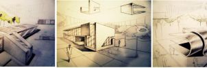 Architecture concepts by dr4wing-pencil
