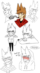 More doodles of Tord by Kageniec
