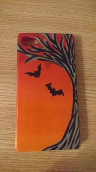 Halloween phone case by Anonymous---Lucifer