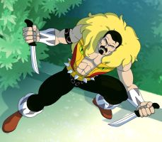 spider man the animated series kraven the hunter by stalnososkoviy