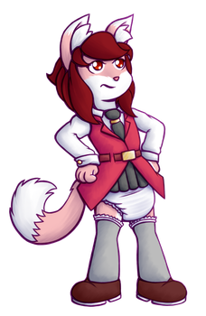 Kylie Whiptail by Hira-Dontell