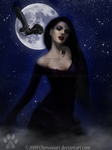 Mistress of The Night by chenoasart