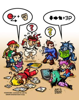 Remember trying to learn all the special moves? by jonjmurakami