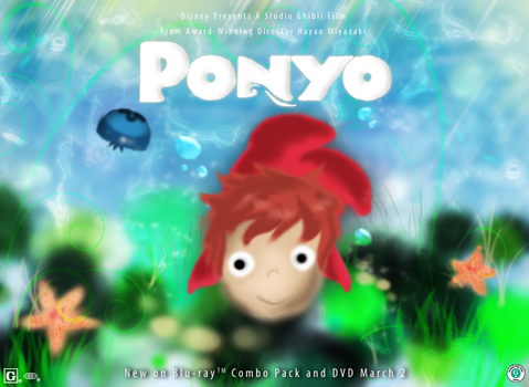 Desness Ponyo Contest Entry by desness