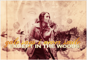 Gale says I never smile except in the woods by BBfashion