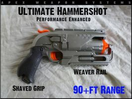 Another Ultimate NERF Hammershot by MarcWF
