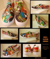Soul Eater Shoes by soccercat4685