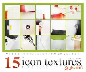 Icon Textures Set 4 by topassilem