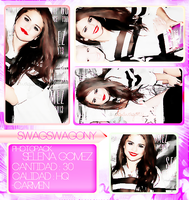Photopack Selena Gomez by iSparksOfLies