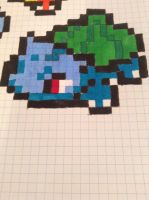 pixleated Bulbasaur by AmazinPerson
