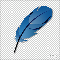 Photoshop Feather $PSD by VSX47