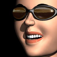 3D girl by wender