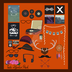 Indie/hipster Pack by KarmicIllusion