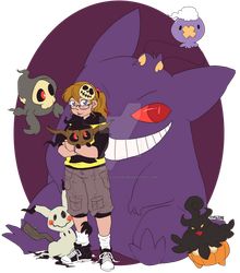Pokemon: Haunted Team Blep by AkitheFrivolicious