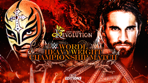 WWE New Years Revolution - Custom Match Card. by Erick11Editions