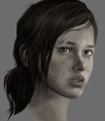 Ellie Face by TheThrillKillKult