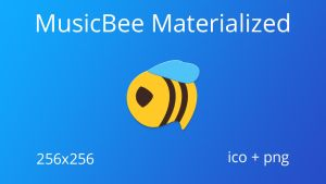 MusicBee Materialized by JMoss90