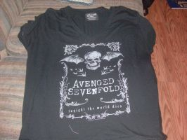 New Avenged Sevenfold Shirt by A7XFan666