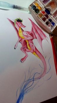 American Dragon by GirlScoutDragon
