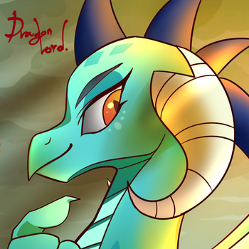 Dragon lord Ember by RenoKim