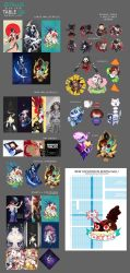 AX 2016 Merch List by zetallis