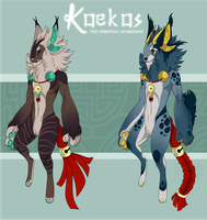 (AUCTION) Koekos | Batch 2 | CLOSED! by Kougiri
