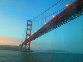 golden gate bridge by TaitGallery